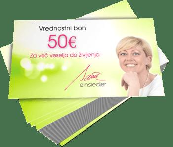 Vrednostni bon za 50€